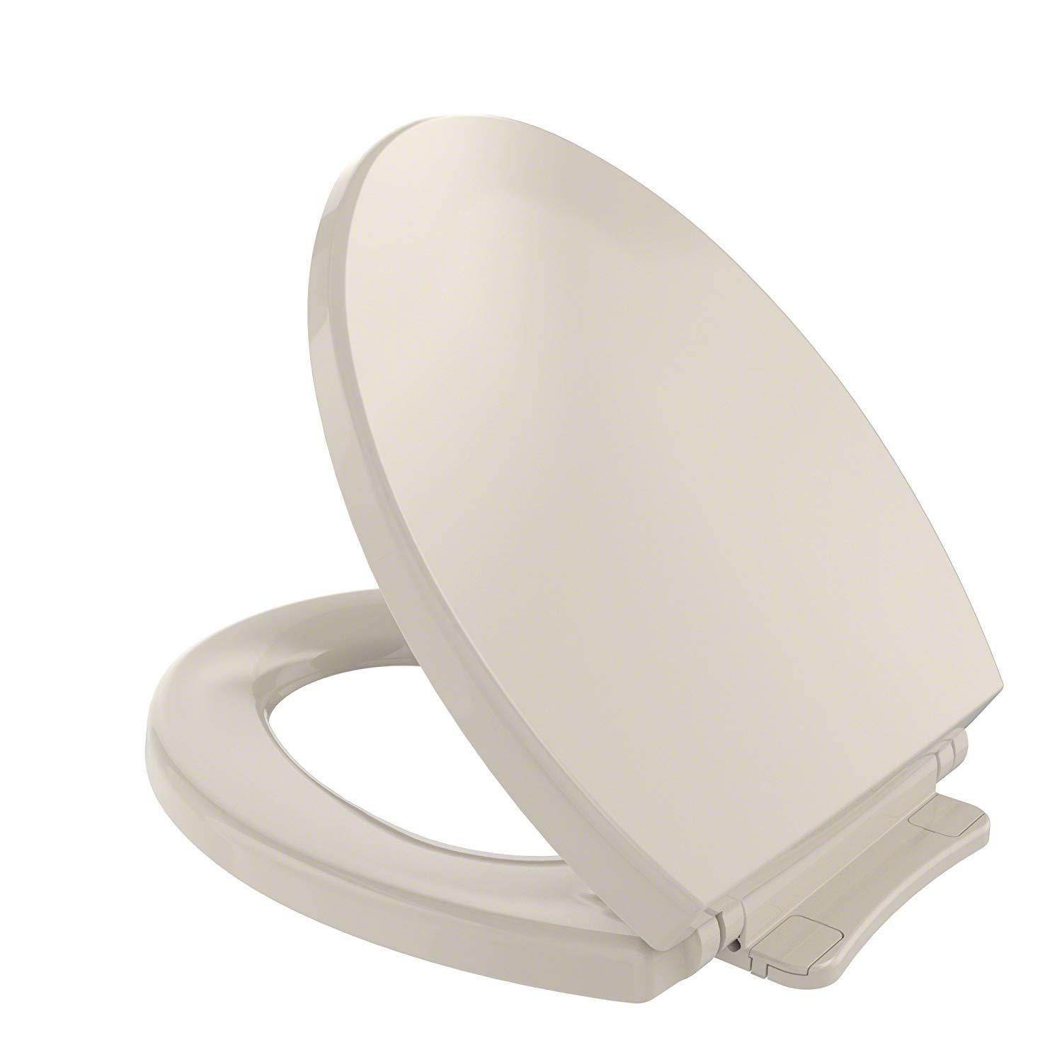Toto Elongated Toilet Seat.Details About Toto Ss114 01 Softclose Elongated Toilet Seat Cover Cotton White
